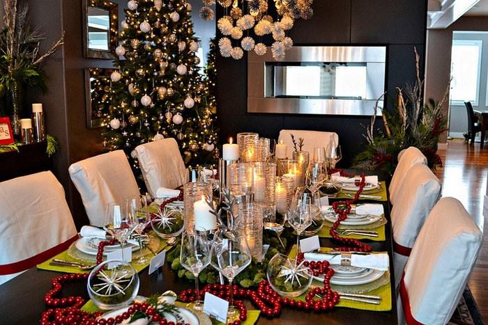 Как делают праздники: идеи украшения новогоднего стола